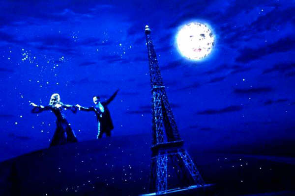 Je t'aime. Moulin Rouge o como el amor se vuelve luz...