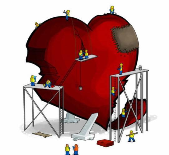 Reconstruyendo un corazón herido...